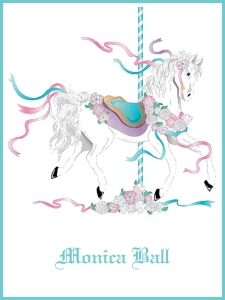 Carousel Horse Bookplates