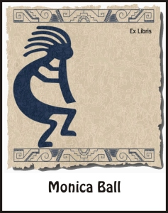 Kokopelli Dancing Bookplates