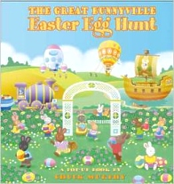 Great Bunnyville Easter Egg Hunt,  Easter Pop-up book