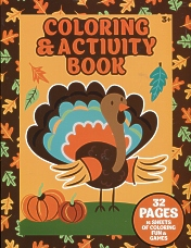 Thanksgiving Activity Book for Children