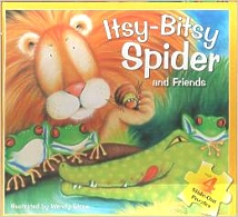 Itsy Bitsy Spider and Friends, Puzzle Book