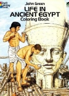 Life Ancient Egypt Coloring Book