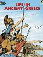 Life Ancient Greece Coloring Book