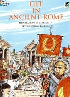Life Ancient Rome Coloring Book
